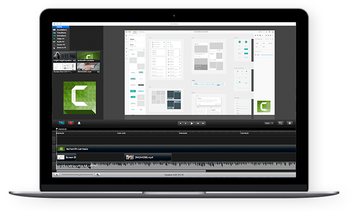 Screencasts with Camtasia