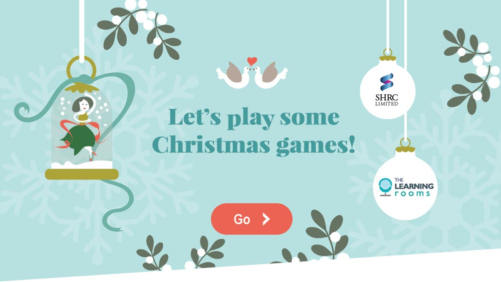 Let's play some Christmas games