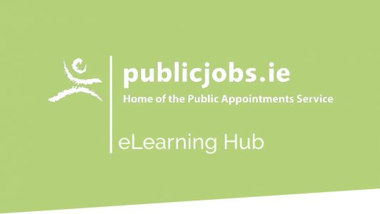 Public Appointments Service eLearning Hub