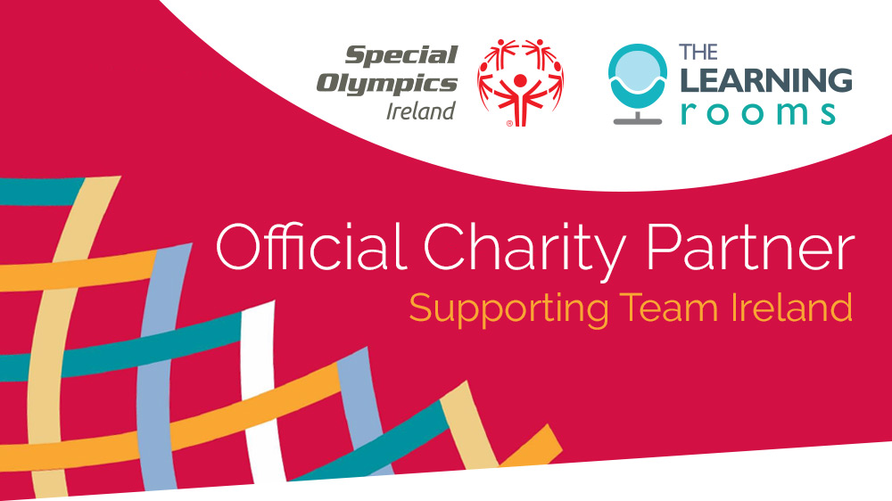 The Learning Rooms are delighted to be official charity partners of Special Olympics Ireland