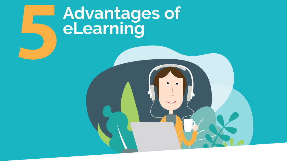 Infographic: 5 advantages of eLearning