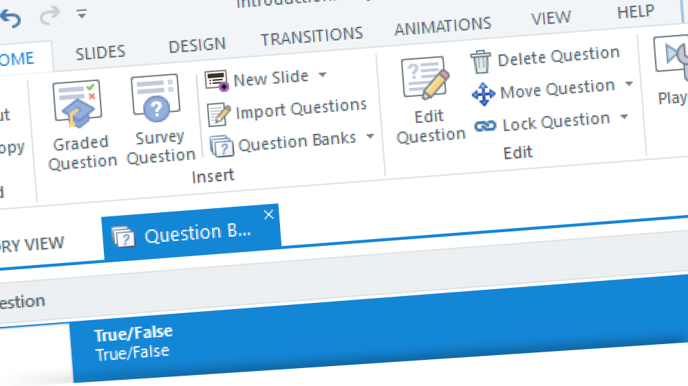 Articulate Storyline question bank